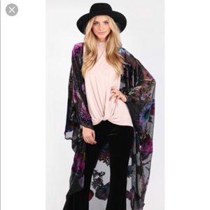 YFB On the Road Raven Kimono